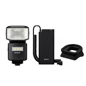 소니 HVL-F60RM 플래시 + FA-EBA1 배터리팩 + FA-RG1 레인가드