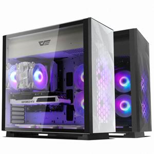 darkFlash DLE21 RGB MESH 강화유리[화이트]