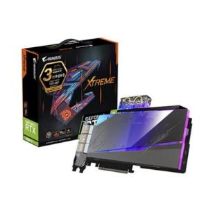 GIGABYTE AORUS 지포스 RTX 3080 Ti Xtreme 워터블럭 D6X 12GB