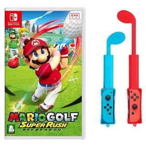 닌텐도 마리오 골프 슈퍼 러쉬 + 골프 그립 패키지