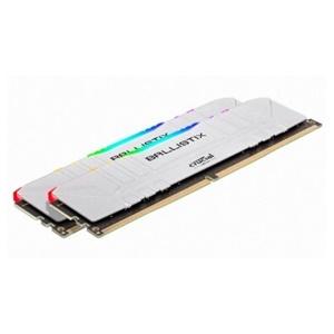 마이크론 Crucial Ballistix DDR4 PC4-25600 CL16 RGB White[16G(8Gx2개)]