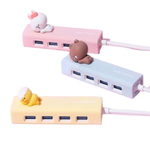 로이체 라인프렌즈 피규어 허브[무전원(USB)]
