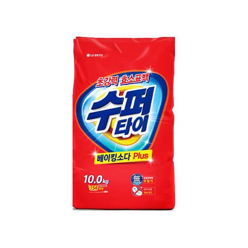 LG생활건강 수퍼타이 베이킹소다플러스 리필 10kg[1개]