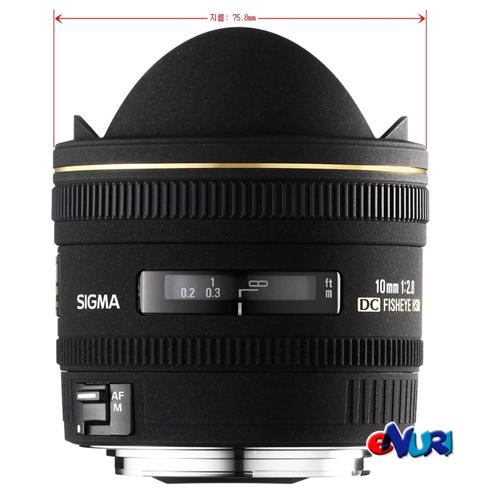 Sigma 10mm F2.8 EX DC Fisheye HSM 니콘용[정품]