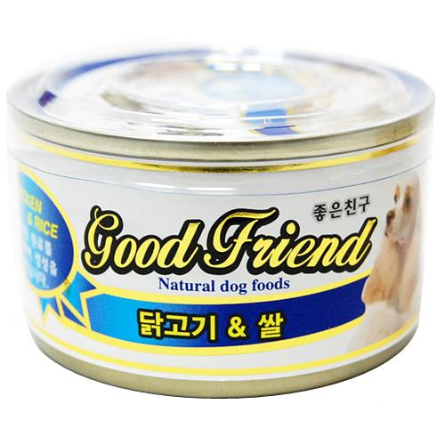 굿프렌드 닭고기&쌀 100g[24개]