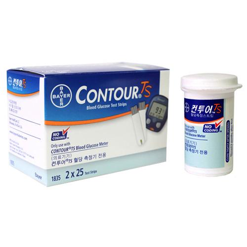 바이엘 Contour TS 혈당 시험지[100매]