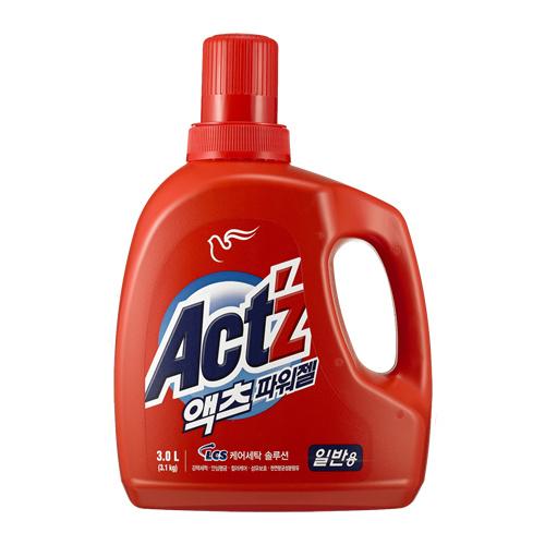 피죤 액츠 파워젤(일반용) 3L(3.1kg)[4개]