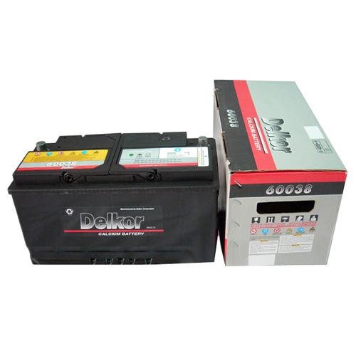 델코 DIN60038[(미반납)폐배터리]