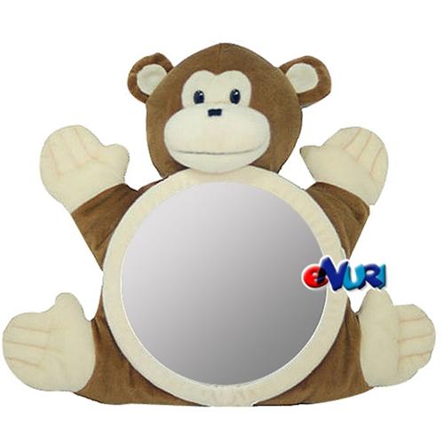 씨미스마일 카시트 인형거울[원숭이]