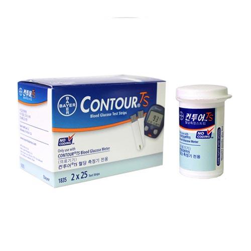 바이엘 Contour TS 혈당 시험지[50매]