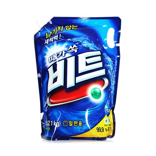 CJ라이온 비트 액체세제(일반용) 리필 2L(2.1kg)[1개]