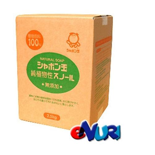 샤본다마 순식물성 천연세탁 가루비누 리필 2500g[1개]