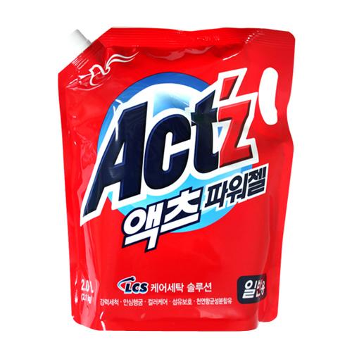 피죤 액츠 파워젤 (일반용) 리필 2.0L(2.1kg)[2개]