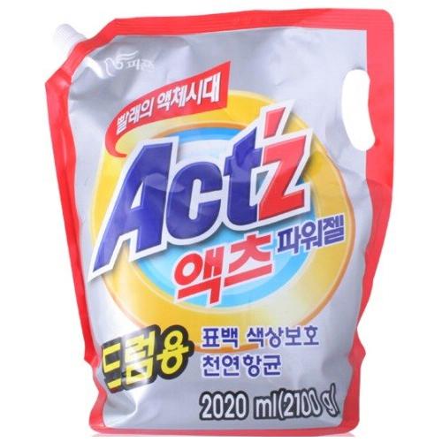 피죤 액츠 파워젤(드럼용) 리필 2L(2.1kg)[1개]