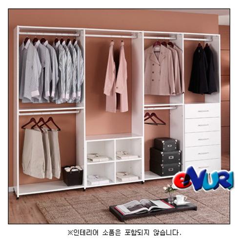 에든 스마트 화이트 드레스룸 SMW-408