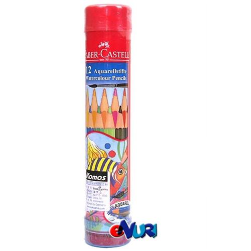 파버카스텔 학생용 수채색연필 라운드[12색]