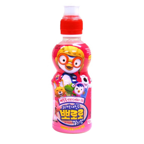팔도 뽀로로 딸기맛 235ml[1개]
