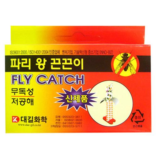 대길화학 왕파리 끈끈이 5매[10팩(50개)]