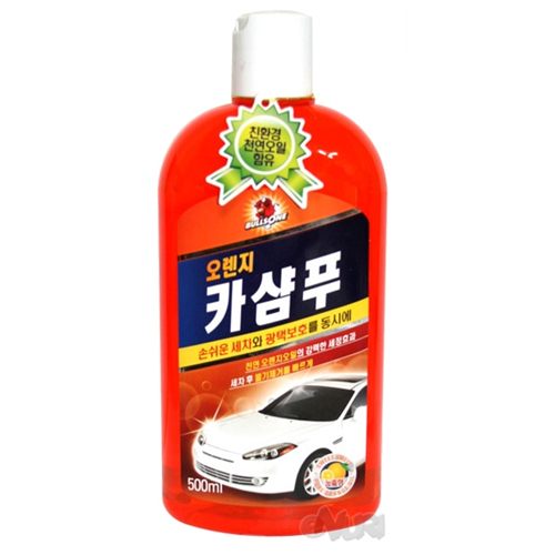 불스원 오렌지 카샴푸 500ml[1개]