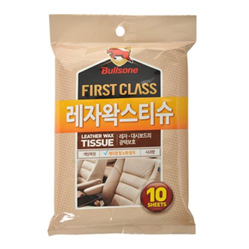 불스원 퍼스트클래스 레자왁스 티슈 10매[1개]