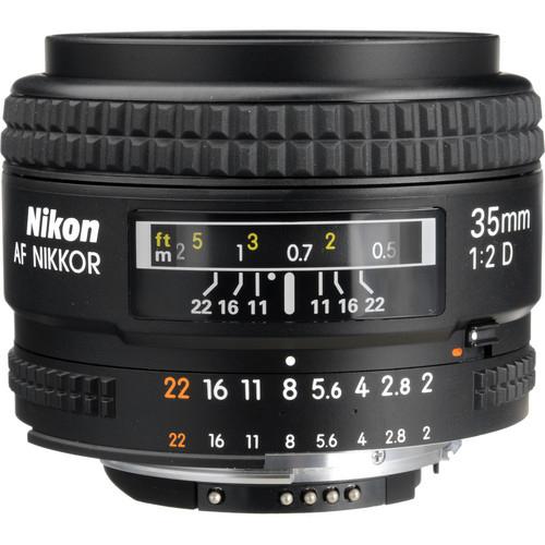 니콘 AF NIKKOR 35mm F2D[병행수입]
