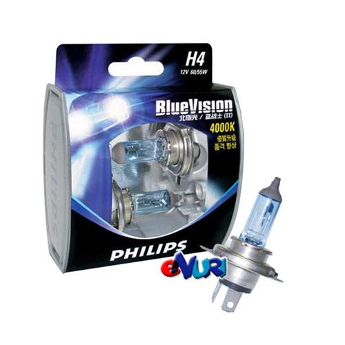 필립스 블루 비전 램프 4000K (2개)[규격선택]