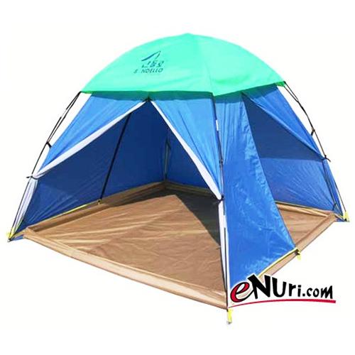 산들로 황토방 텐트