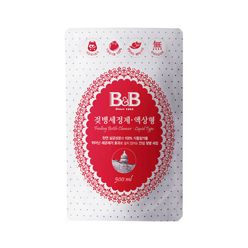 보령메디앙스 B&B 젖병 세정제 액상형 리필 500m[6개]