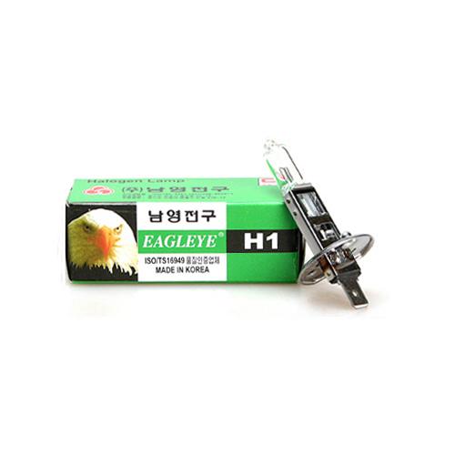 남영전구 이글아이 클리어 전조등 램프 (1개)[규격선택]