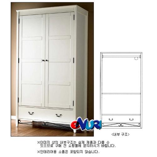 디자인벤처스 로맨틱 이불장 (108cm)