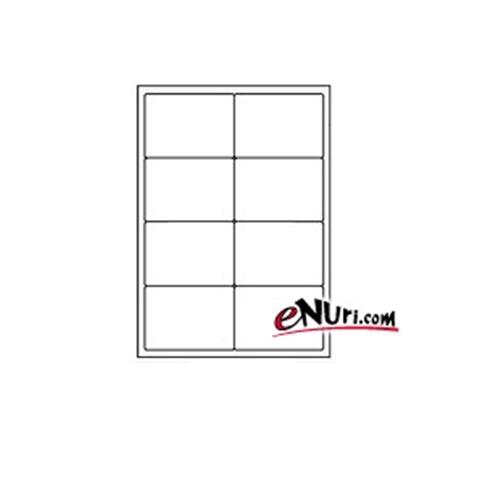 현대프린텍 애니라벨 반투명 라벨지 V3910[10매]