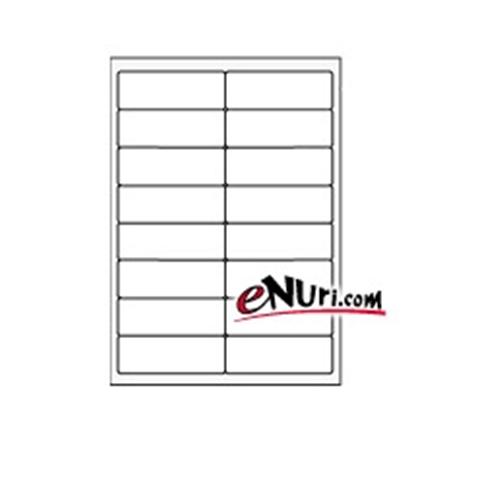 현대프린텍 애니라벨 투명 라벨지 V3930[10매]