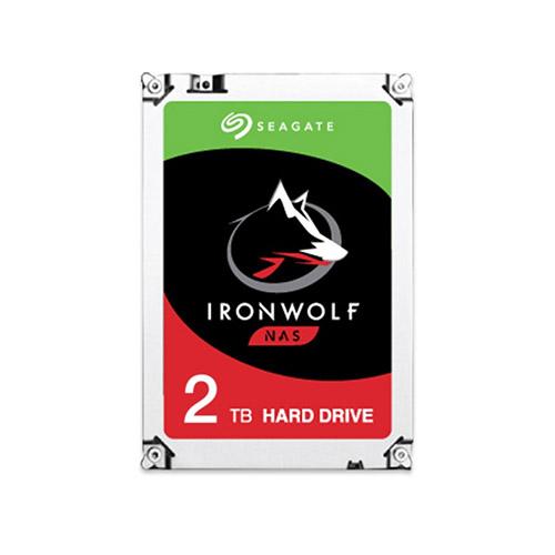 Seagate 아이언울프 SATA3 HDD 패키지 4PACK[2T, 64M (ST2000VN004)]
