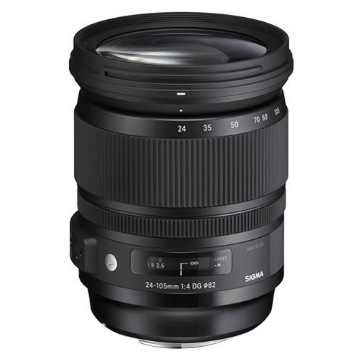 Sigma A 24-105mm F4 DG OS HSM 캐논용[+필터]