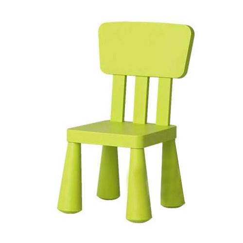 이케아 맘무트 어린이 등받이 의자