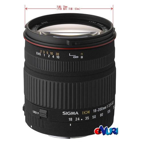 Sigma 18-200mm F3.5-6.3 DC 니콘용[병행수입]