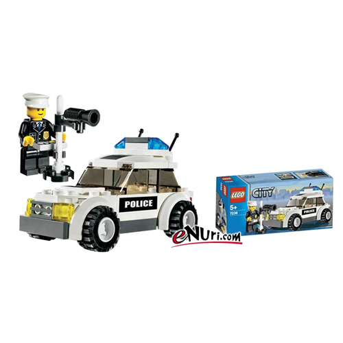 레고 시티 경찰차 V29 (7236)