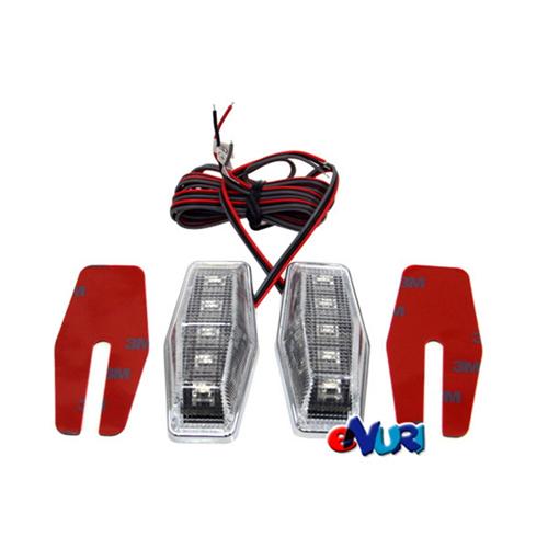 포고 슈퍼플럭스 LED 사이드램프 (2개)