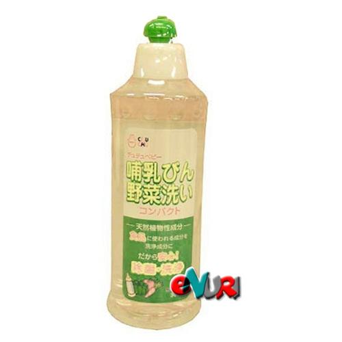 쭈쭈베이비 야채 젖병 세정제 용기 300ml[1개]