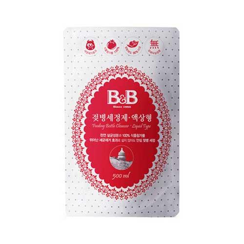 보령메디앙스 B&B 젖병 세정제 액상형 리필 500ml[1개]