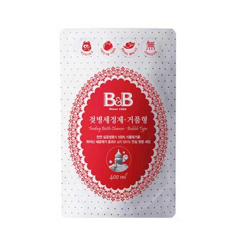 보령메디앙스 B&B 젖병 세정제 거품형 리필 400ml[6개]