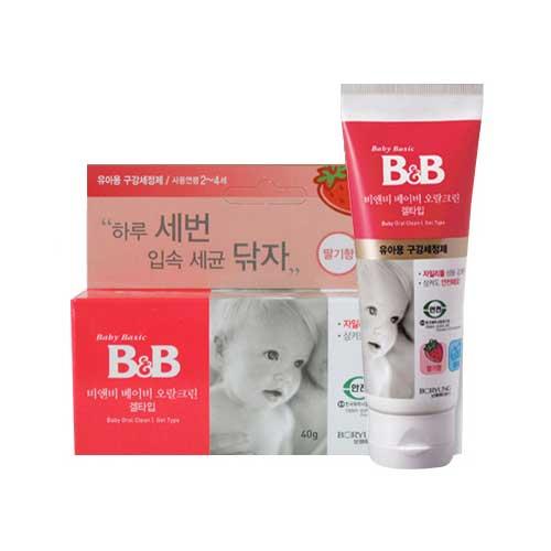 B&B 2006 비앤비 베이비 오랄크린 겔타입 2단계 40g[1개]