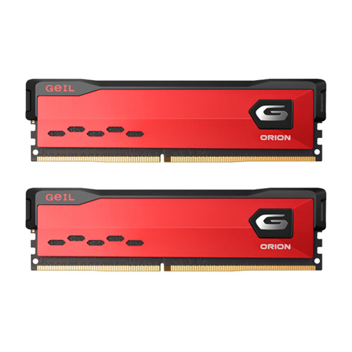 Geil DDR4 PC4-32000 CL18 ORION Red[32G(16Gx2개)]