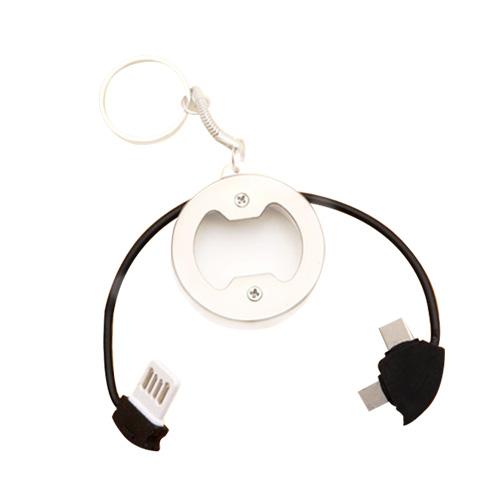 컴스마트 고리형 USB 충전케이블(IF421)[1.9m]