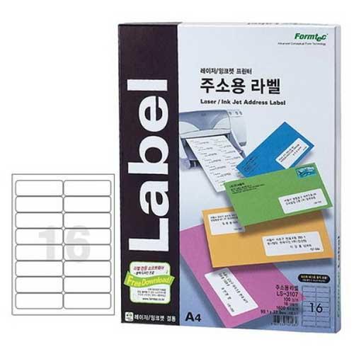 한국폼텍 LS-3107[100매]