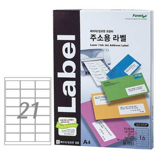 한국폼텍 LS-3105[100매]