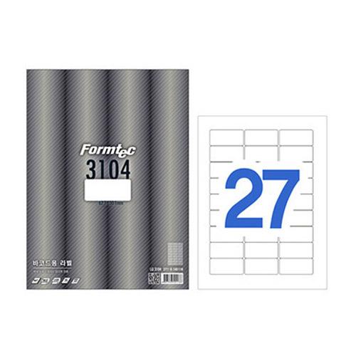 한국폼텍 LS-3104[100매]