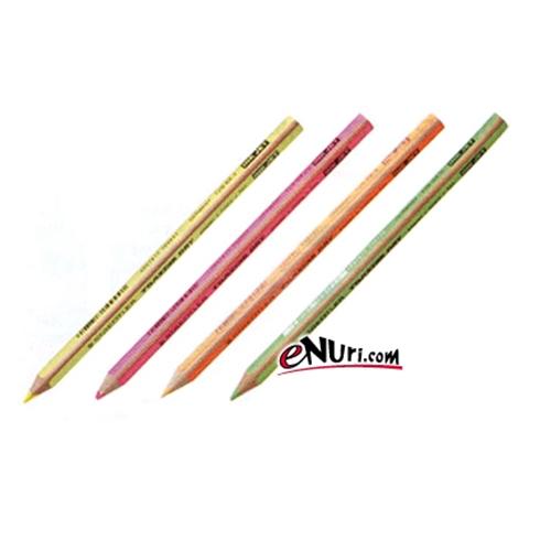 스테들러 형광색연필[색상선택, 1개]
